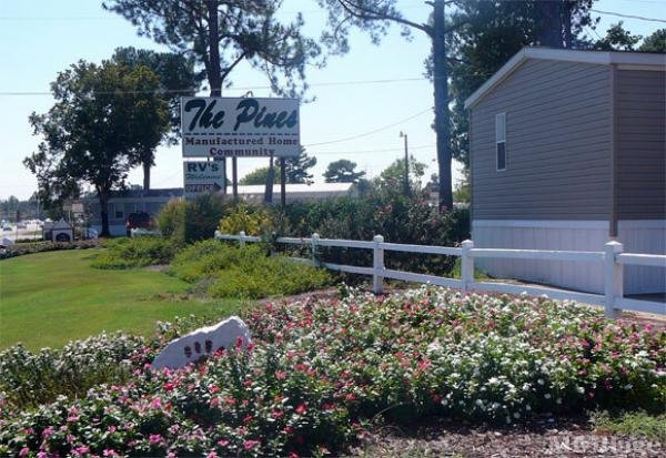 The Pines Community Mobile Home Park in Starkville, MS