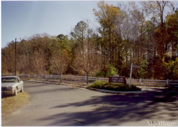 Photo of Cedar Lake Mobile Estates, Middlesex, NC