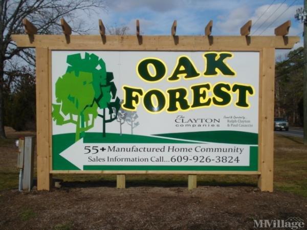 Oak Forest Mobile Home Park Mobile Home Park in Egg Harbor Township, NJ
