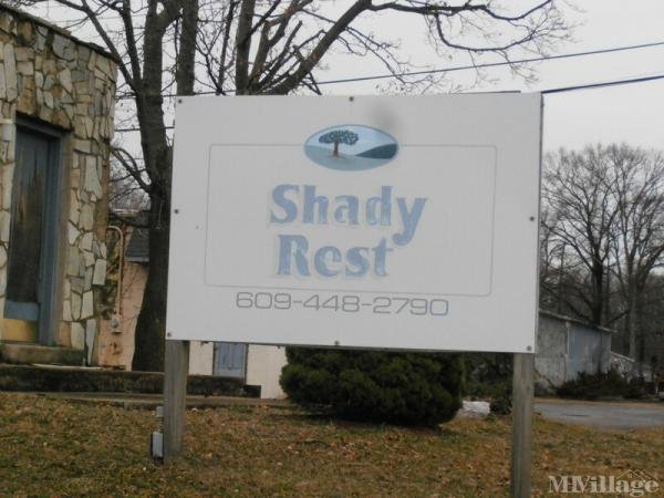 Shady Rest Mobile Home Park Mobile Home Park in Hightstown, NJ