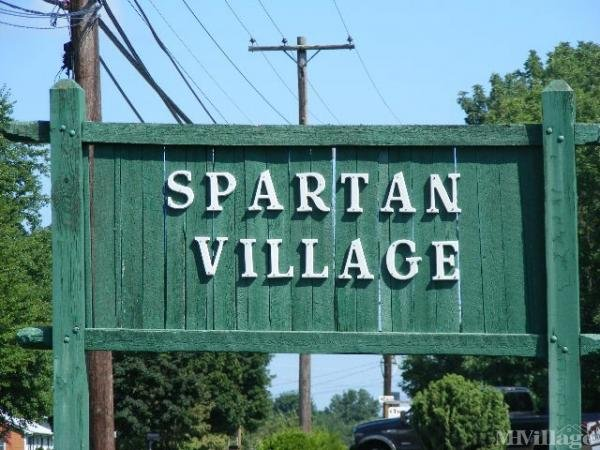 Spartan Village Manufactured Home Community Mobile Home Park in Wrightstown, NJ