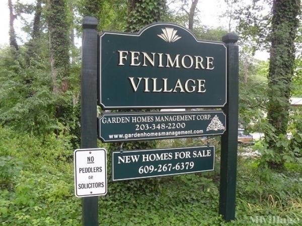 Fenimore Village Mobile Home Park in Eastampton, NJ