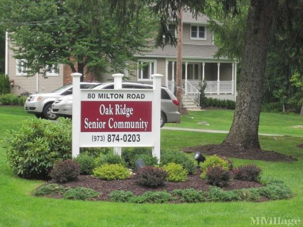 Oakridge Senior Community Mobile Home Park in Oak Ridge, NJ