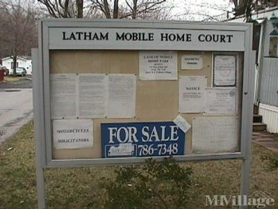 Latham Mobile Home Court
