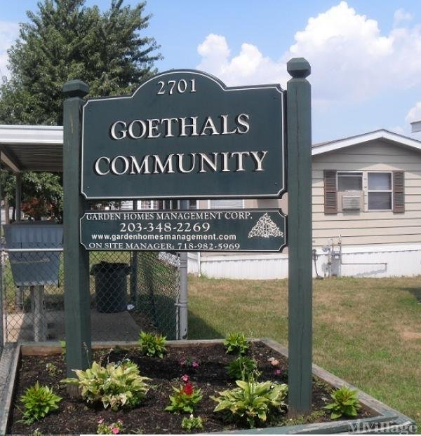 Goethals Community Mobile Home Park in Staten Island, NY