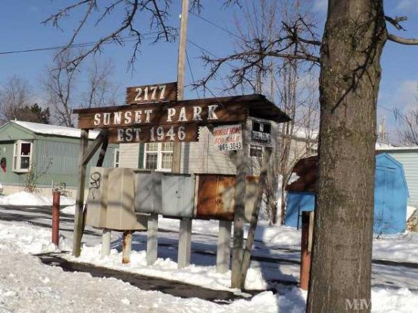 Sunset Mobile Home Park Mobile Home Park in Schenectady ...