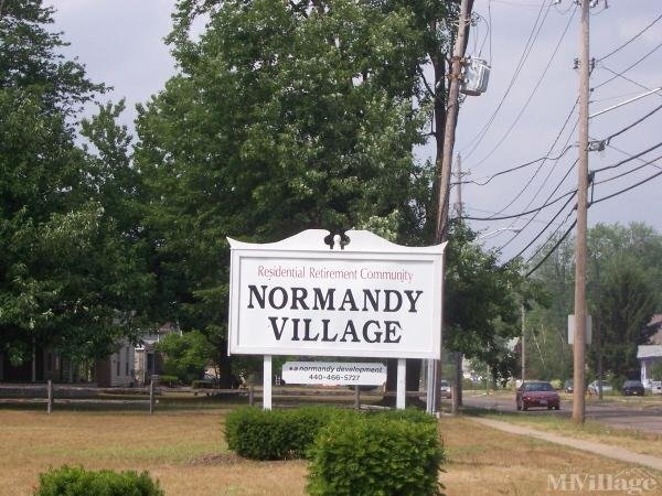 Normandy Village Mobile Home Park Mobile Home Park in Geneva, OH
