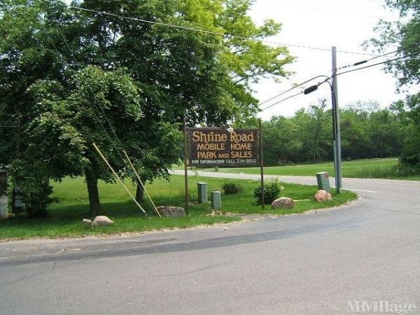 Shrine Road Mobile Home Park Mobile Home Park in Springfield, OH