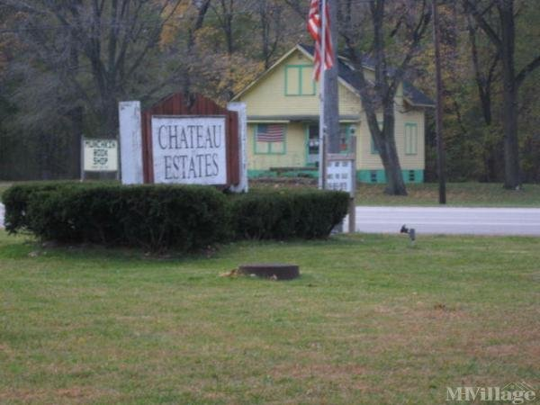 Chateau Estates Mobile Home Park in Swanton, OH