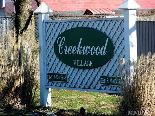 Creekwood Village Mobile Home Park Mobile Home Park in Middletown, OH