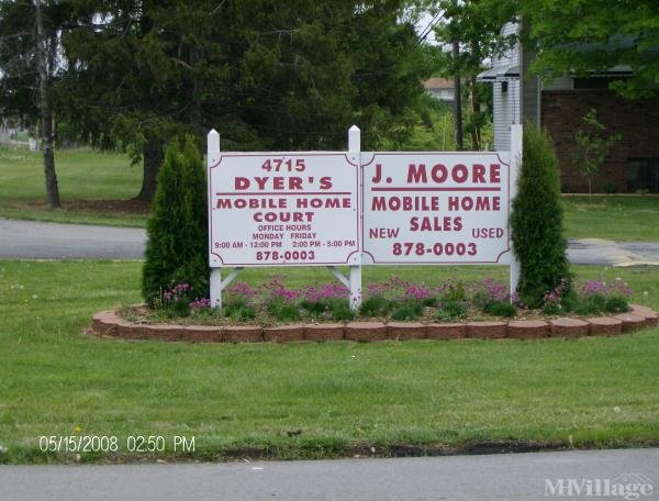 Dyer's Mobile Home Court Mobile Home Park in Columbus, OH