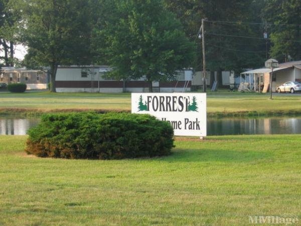 Forest Mobile Home Park Mobile Home Park in Delta, OH