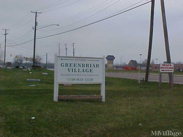 Greenbriar Village Mobile Home Park Mobile Home Park in Hebron, OH