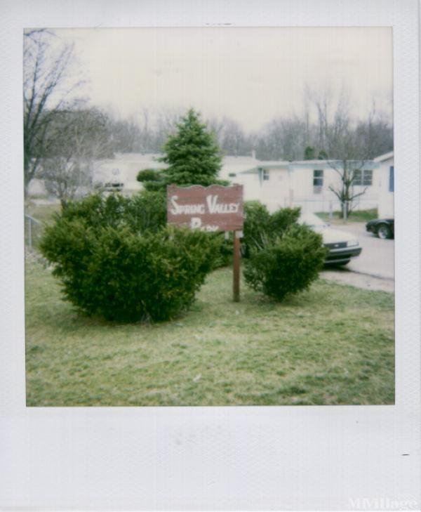 Spring Valley MH Park Mobile Home Park in London, OH