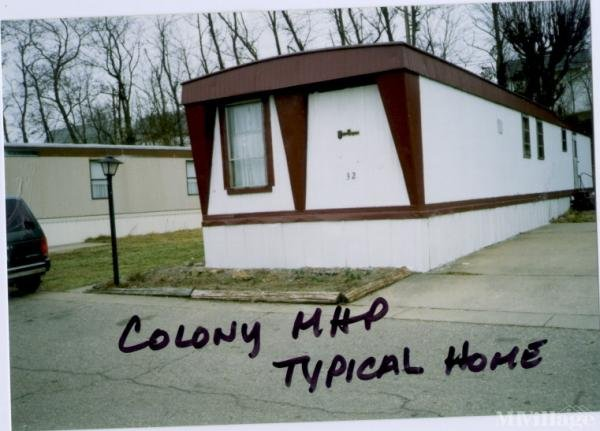 Colony Mobile Home Park Mobile Home Park in Portsmouth, OH