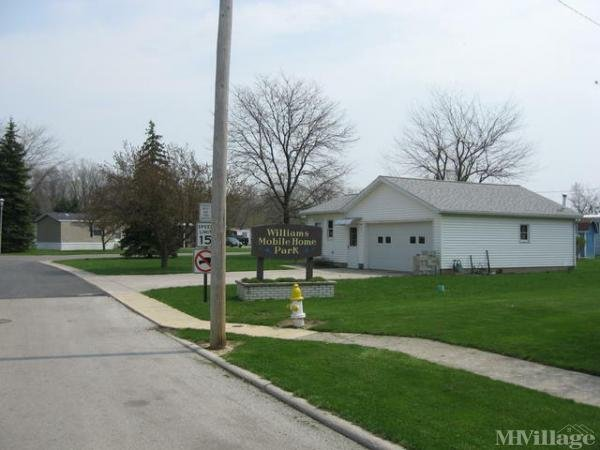 Williams Mobile Home Park Mobile Home Park in Fostoria, OH