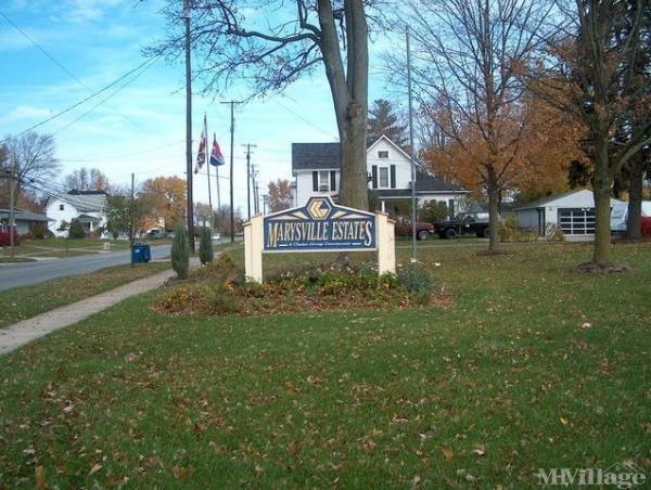 Marysville Estates Mobile Home Park in Marysville, OH