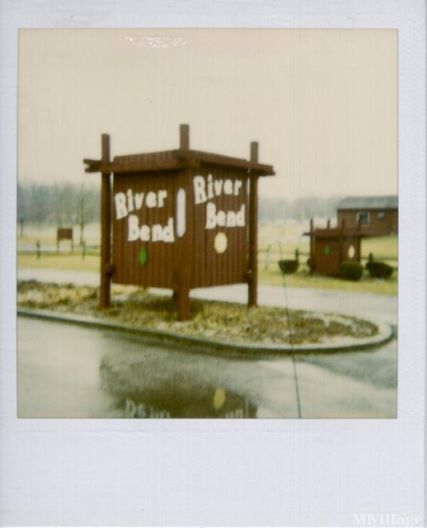 River Bend Resort Mobile Home Park in Caledonia, OH