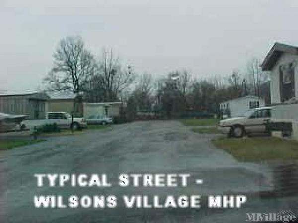 Wilson's Village Mobile Home Park Mobile Home Park in South Point, OH