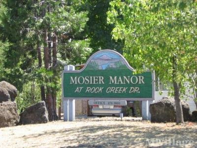 Mobile Home Park in Mosier OR