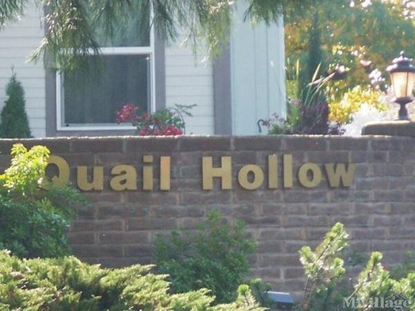 Quail Hollow Mobile Home Park in Fairview, OR