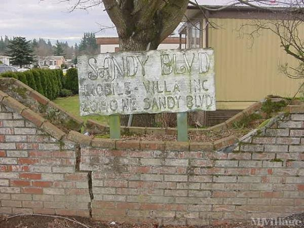 Sandy Mobile Home Park Mobile Home Park in Fairview, OR