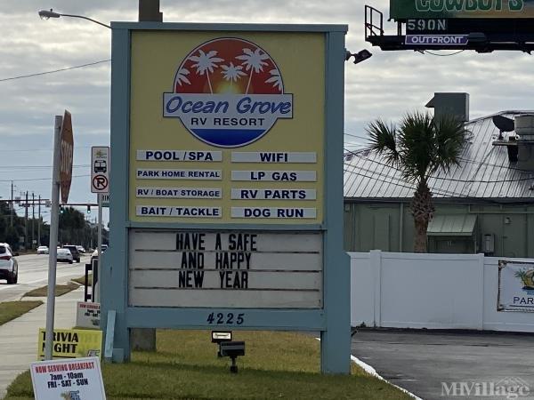 Photo of Ocean Grove RV Resort, Anastasia Island, FL