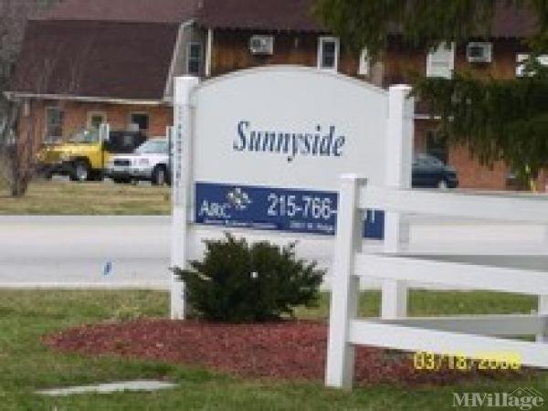 Sunnyside Mobile Home Park in Eagleville, PA