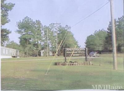 Mobile Home Park in Warrenville SC