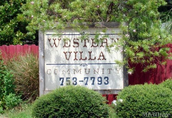 Western Villa MHC Mobile Home Park in Longview, TX