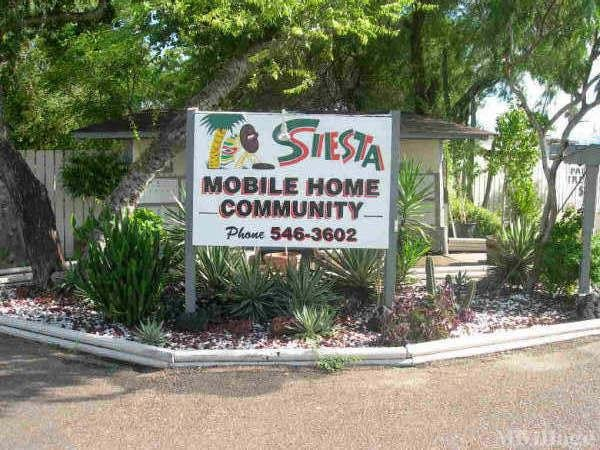 Siesta Mobile Home Community Mobile Home Park in Brownsville, TX