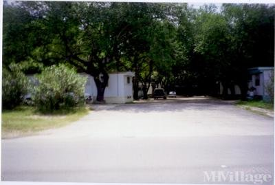 Mobile Home Park in New Braunfels TX