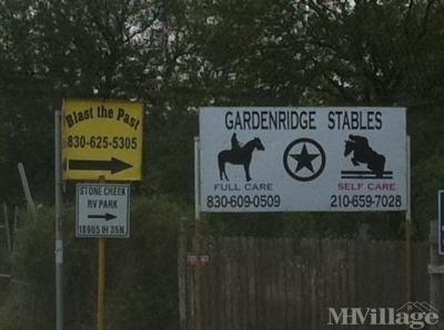 Mobile Home Park in Schertz TX