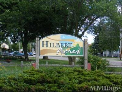 Mobile Home Park in Hilbert WI