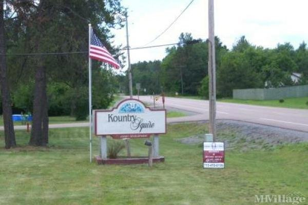Kountry Squire Mobile Home Park in Mosinee, WI