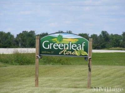 Mobile Home Park in Greenleaf WI