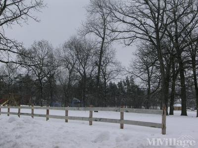 South Playground Area in  Winter!
