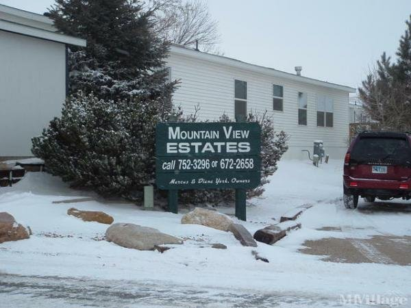 Mountain View Estates Mobile Home Park in Sheridan, WY