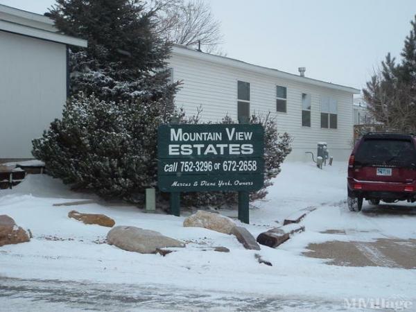 Photo of Mountain View Estates, Sheridan, WY