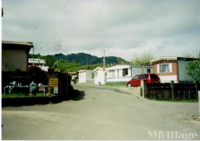 Mobile Home Park in Willits CA