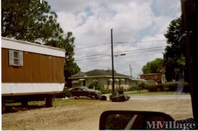 Mobile Home Park in Gretna LA