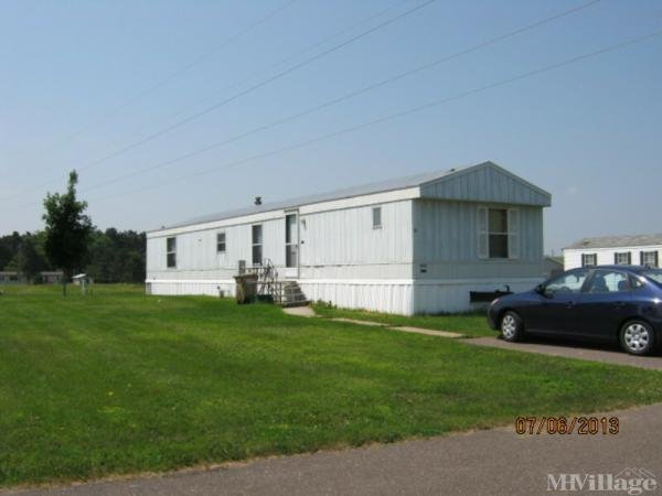 Green Acres Mobile Home Park in Fall Creek, WI