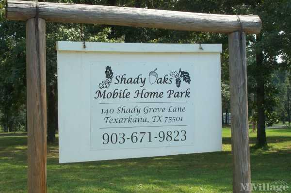 Photo of Shady Oaks Mobile Home Park, Redwater, TX