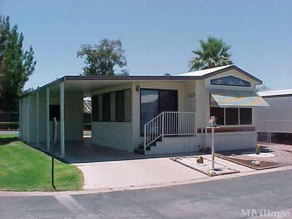 Paradise RV Resort Mobile Home Park in Sun City, AZ