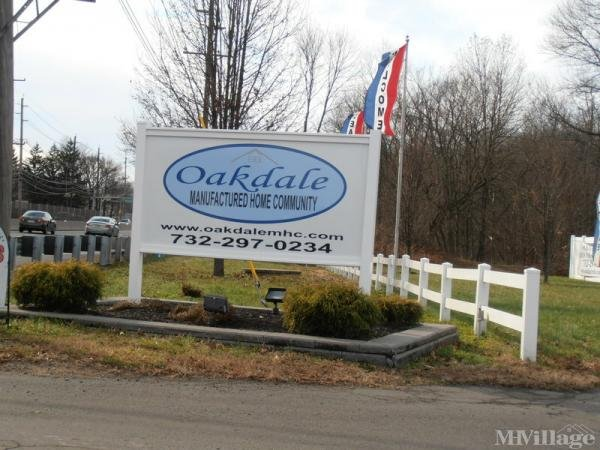 Oakdale MHC Mobile Home Park in North Brunswick, NJ