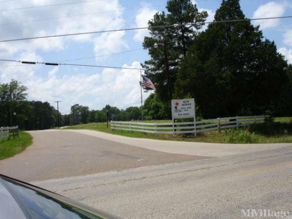 Photo of Sun Acres Mobile Home Park, Kilgore, TX