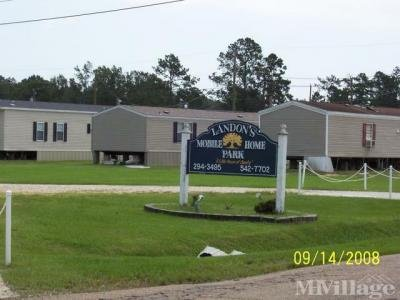 Mobile Home Park in Hammond LA