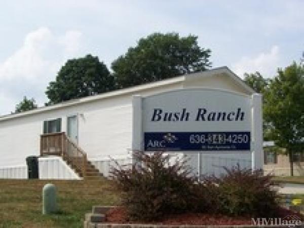 Bush Ranch Mobile Home Park in House Springs, MO