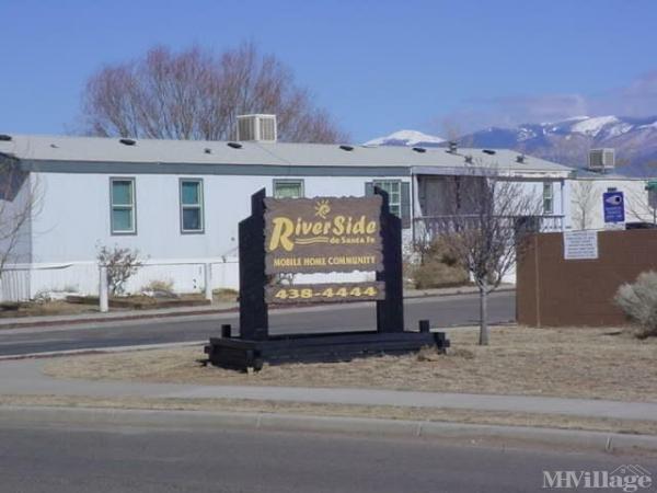 Riverside De Santa Fe Mobile Home Park in Santa Fe, NM