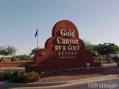Mobile Home Park in Gold Canyon AZ